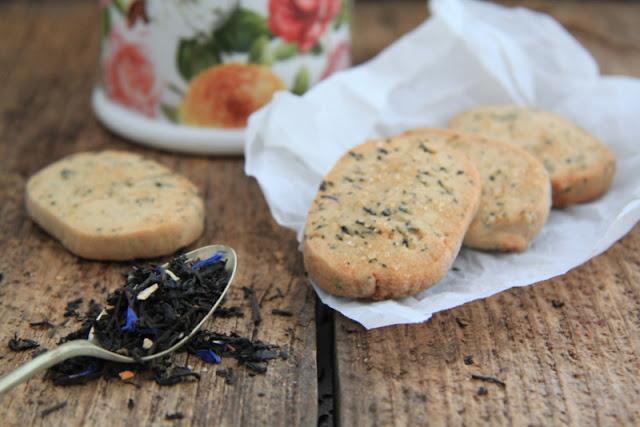 Ciasteczka z herbatą Lady Grey