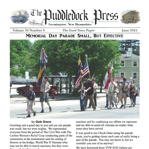 June Issue of the Puddledock is now Available