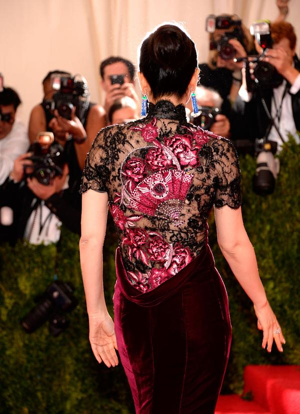Chinese Celebrities at the Met Gala 2015