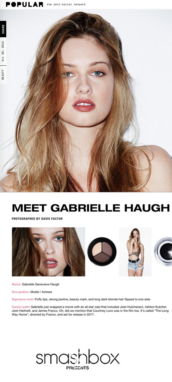 Gabrielle Haugh - Cast Images - Populartv.com