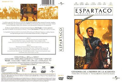 Espartaco | 1960 | Spartacus | Caratula cine clásico épico