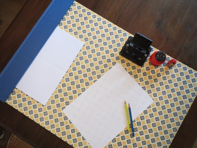 diy desktop pad diy schreibtischunterlage. Black Bedroom Furniture Sets. Home Design Ideas