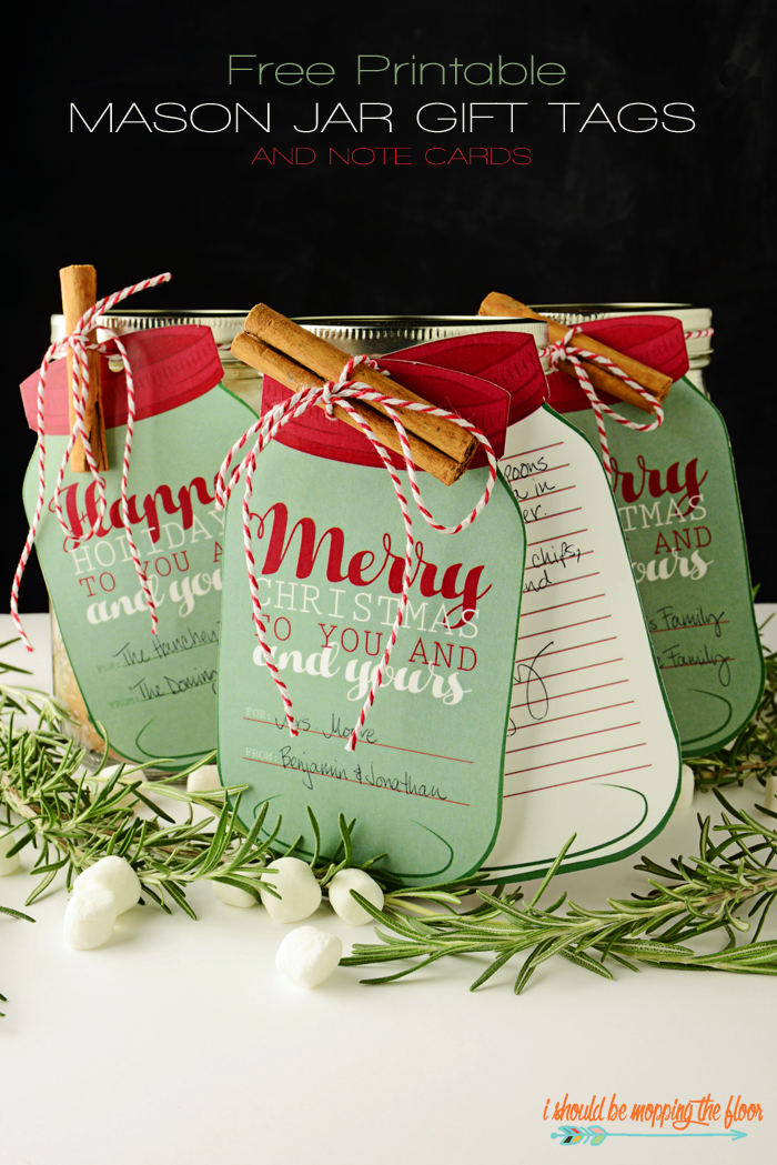 I should be mopping the floor free printable mason jar gift tags i feel like a classic mason jar never goes out of style i buy jars in bulk over the holidays so i can gift the heehaw out of them negle Gallery