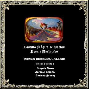 ¡NUNCA DEBEMOS CALLAR!:Magda Lluna/Antonio EScobar/Davinna Bloom