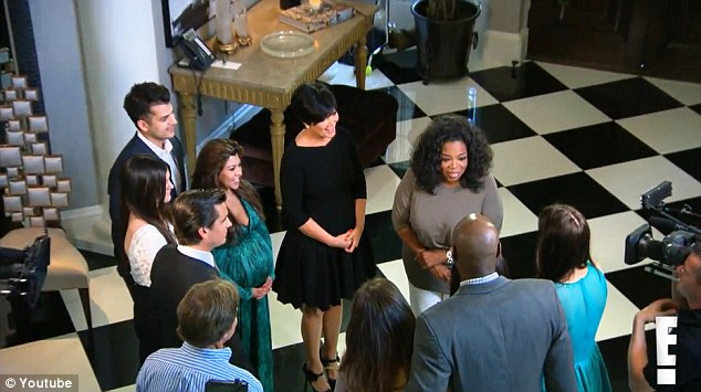Womenstyles photos oprah visits the kardashians - Keeping up with the kardashians show order ...