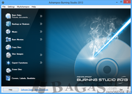 Ashampoo Burning Studio 2013 Full Serial - BAGAS31.com