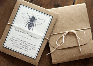 Bee Bookplates - Printable PDF - AliceCantrell