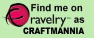 Eu estou no Ravelry