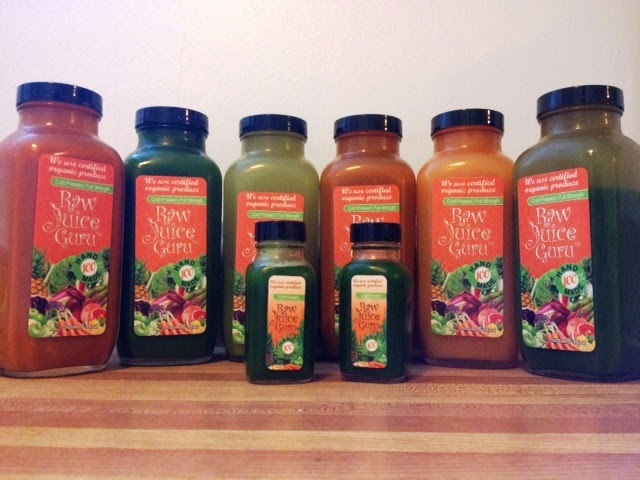 Raw Juice Guru Juices