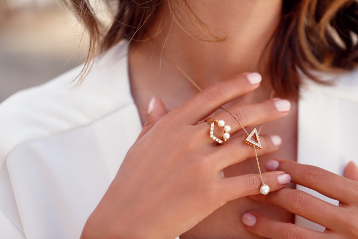 VivaLuxury Necklace, VivaLuxury ring, Annabelle Fleur Necklace