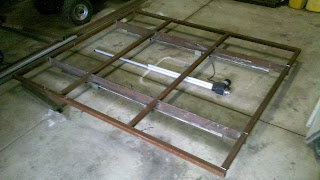 welding linear slide out, Rv slide out, electric slide out, motorhome slide