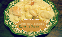 Southern Homemade Banana Pudding Recipe