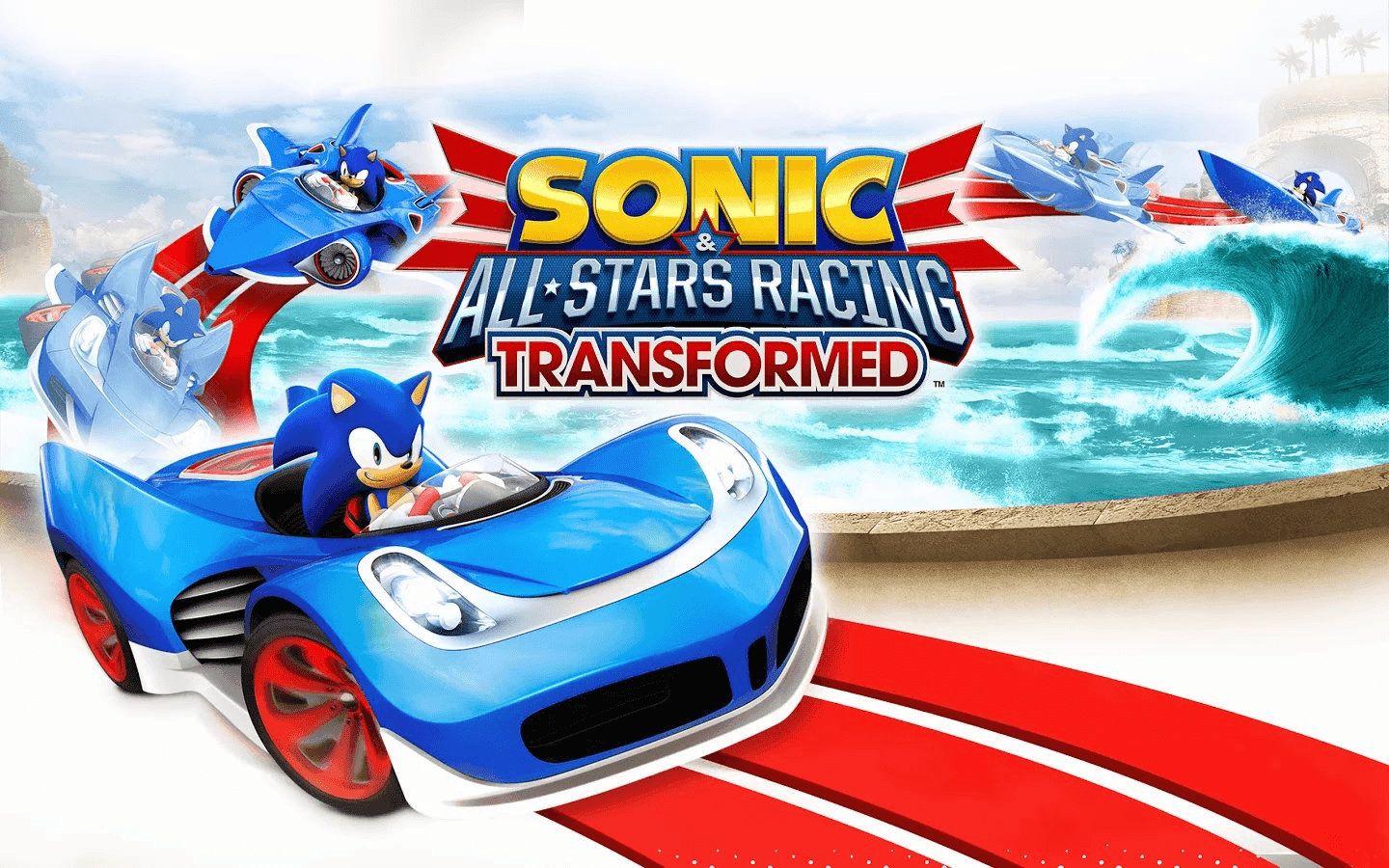 Screenshot Sonic Racing Transformed
