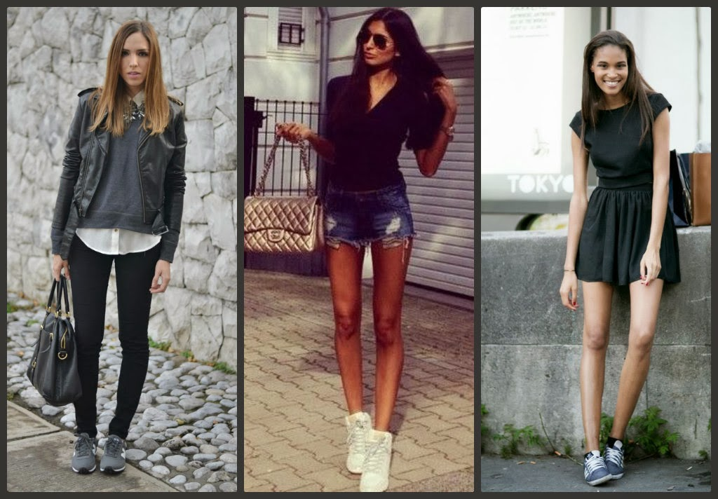 fashion sneakers, outfit idea with sneakers