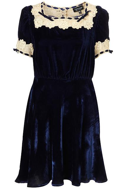 Vintage Velvet Dress 47