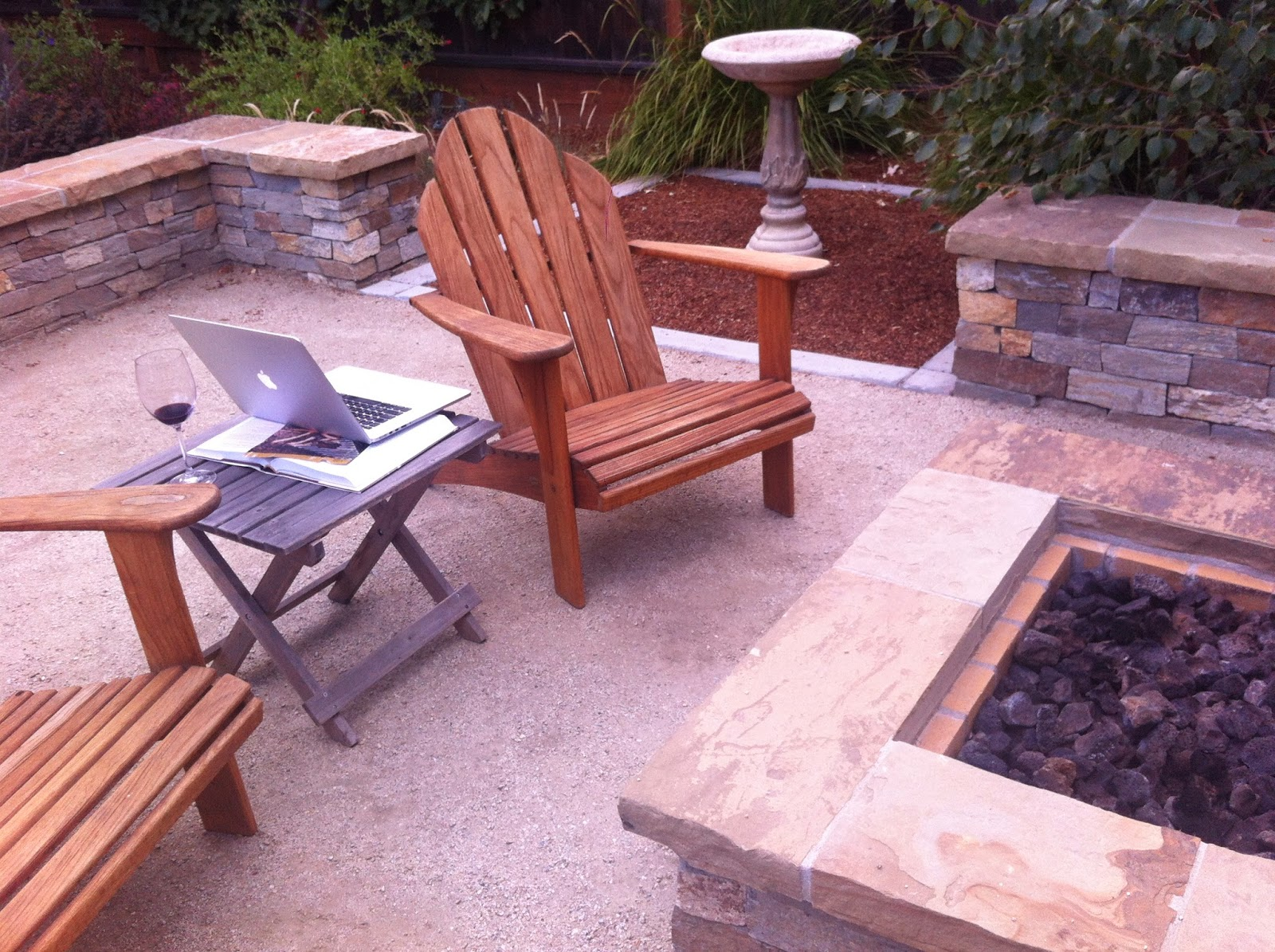 my backyard office © Verdance Landscape Design