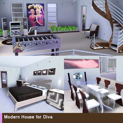 Modern House for Diva 4