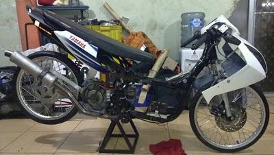 Modifikasi Mesin Yamaha Nouvo