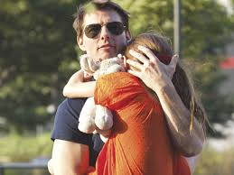 Tom Cruise and his six-year-old daughter Suri
