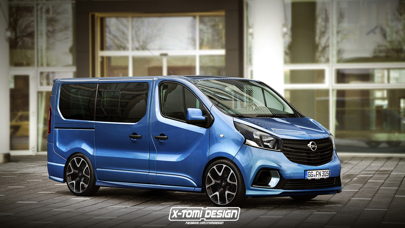 X tomi design top15 sport van