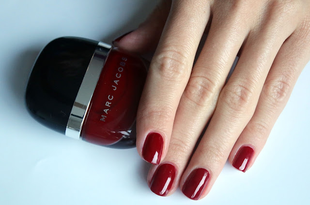 burgundy nail polish  Marc Jacobs Jezebel