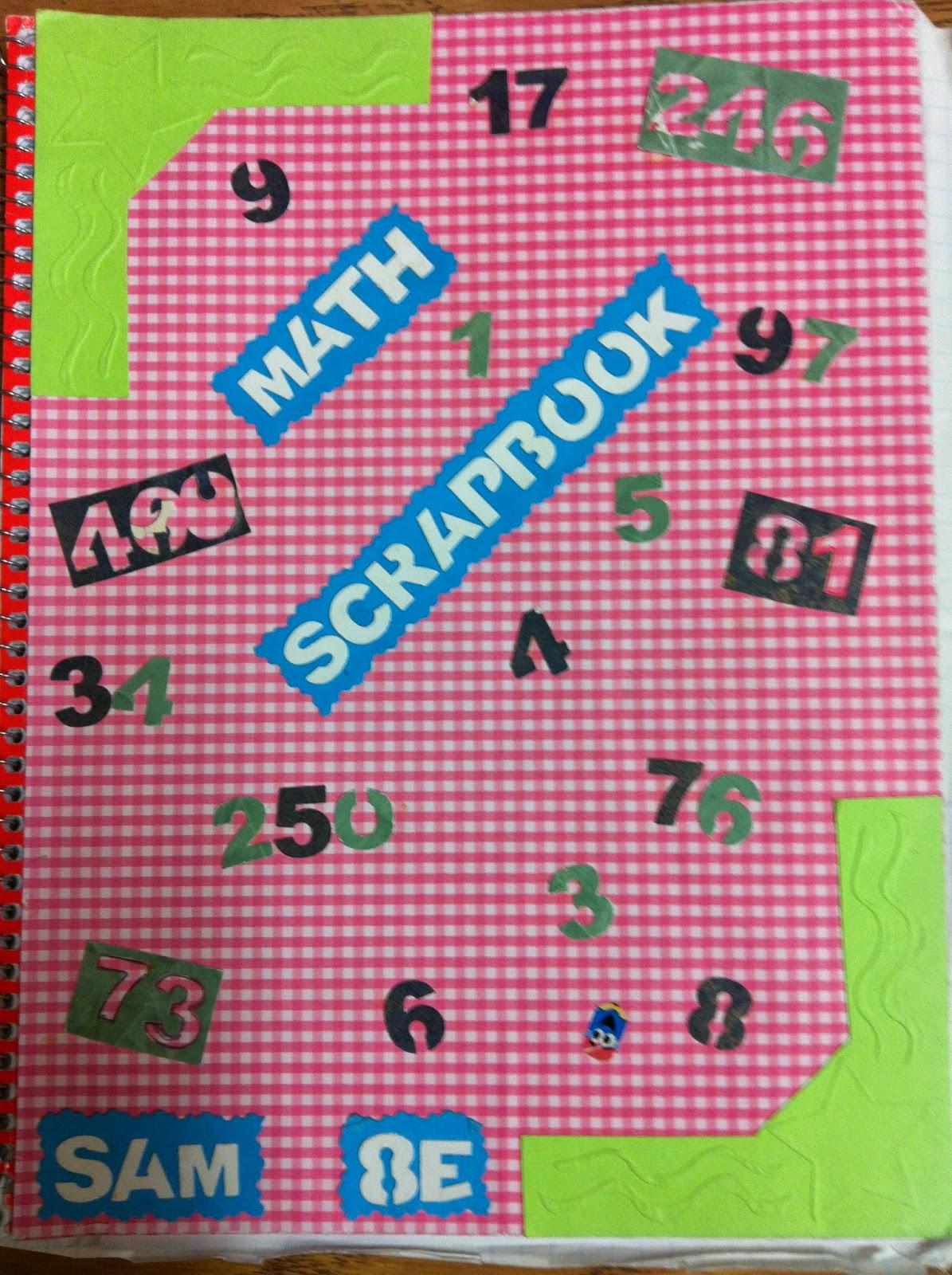 Scrapbook notebook ideas - Sunday 7 September 2014