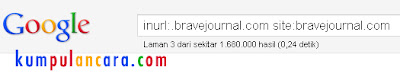 Ternak Backlink di bravejournal