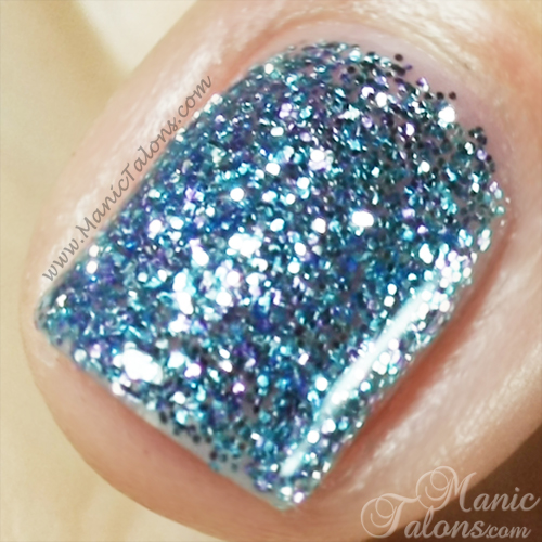 Light Elegance P+ Glitter Gel Ice Breaker Swatch