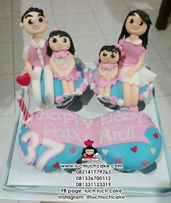 Cupcake Ulang Tahun Untuk Papa