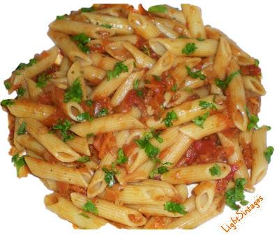 Κόκκινη σάλτσα για μακαρόνια light
