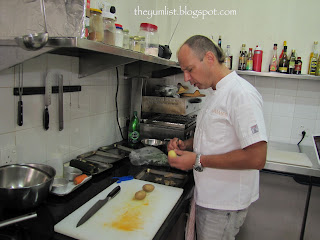Chalk and Cheese, That Little Wine Bar, Celebrity Chef, Cooking Class, Penang