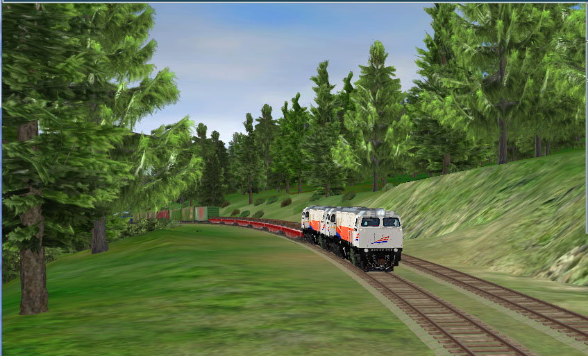 SEPURBIKE: Maenan baru simulator kerreta api TRS 2010
