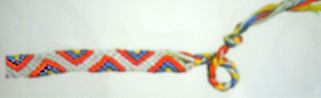 Friendship Bracelet Zig Zag7