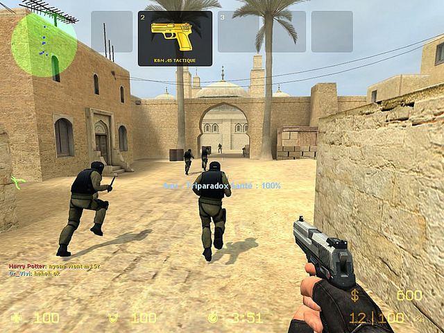 Counter-Strike Source 2014 Battle Gameplay