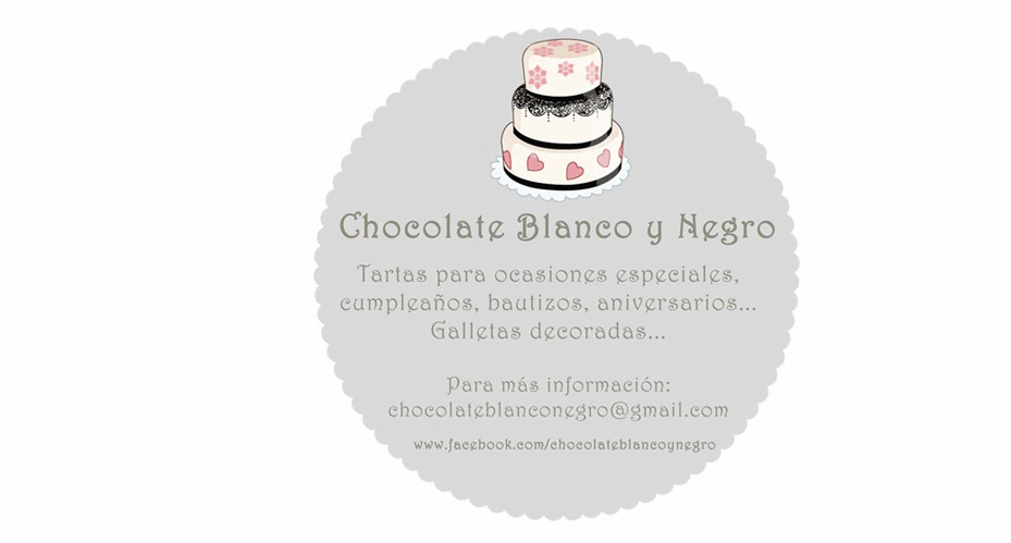 Chocolate Blanco y Negro