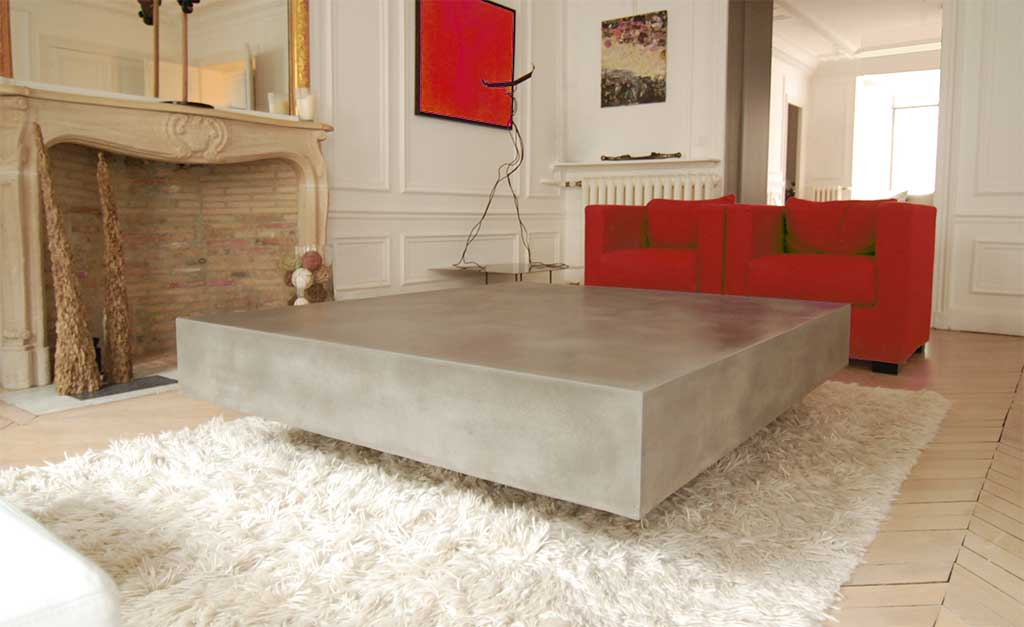 Concrete Tables And How To Make Your Own, DIY