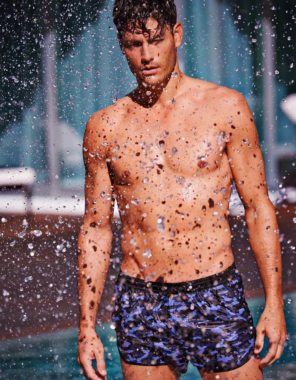 Moda baño hombre. Calzedonia Man Summer 2014