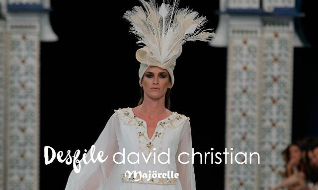 David Christian - Desfile Colección Majörelle - Blog Mi Boda