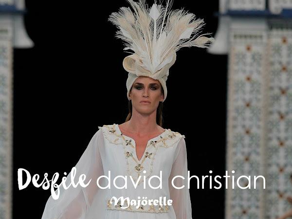 David Christian - Desfile Colección Majörelle
