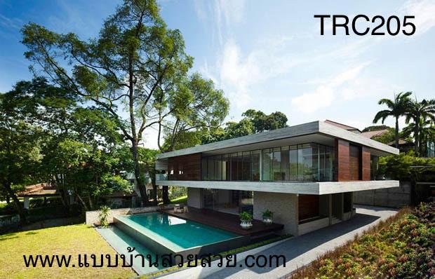 แบบบ้านสวย บ้าน 2 ชั้น  TR205