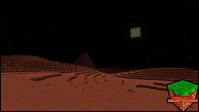 GalactiCraft Mod Marte