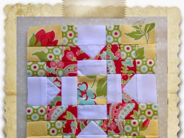 Chatelaine- Free BOW Sampler Quilt Block 23