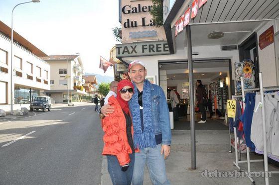 Trip melancong percuma ke Zurich Switzerland bersama Sahajidah Hai-O