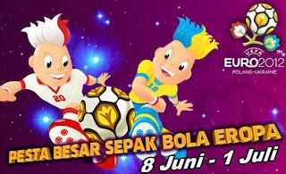 Jadwal Pertandingan EURO 2012 Lengkap (8Juni-1Juli)