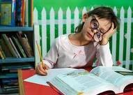 Não estude quando estiver cansado(a)!