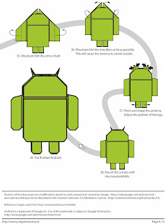 Google Android Origami