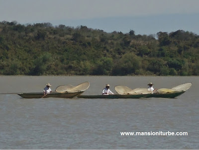 Fishemen at Lake Patzcuaro