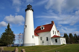 Point Iroquois Lighthouse, Bay Mills, MI