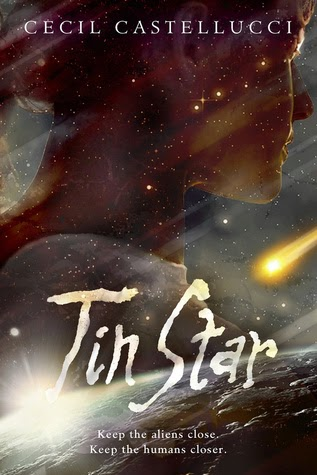 tin star by cecil castellucci book cover