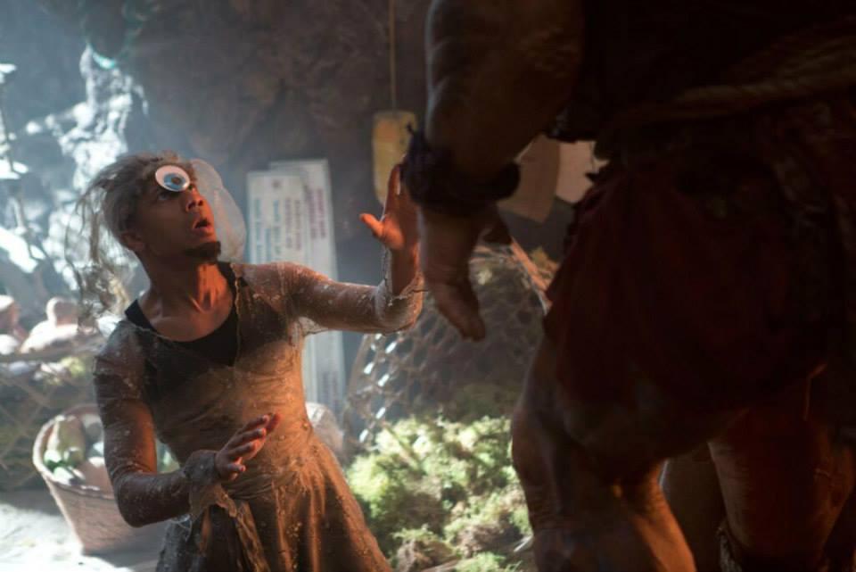 Grover Wearing a Wedding Dress